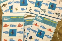 Finding Dory arts and crafts