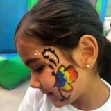 butterfly-facepainting