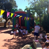 summer camp 2017 bouncy castle