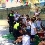 police-talking