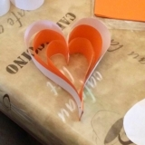 Paper hearts by Ms Aloma