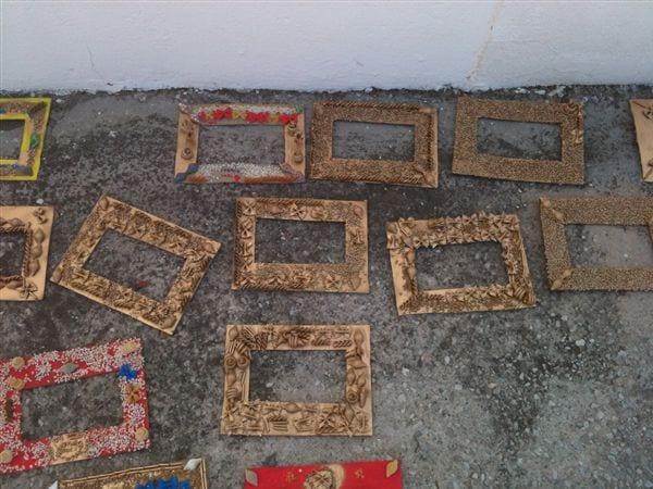 hand made pasta frames