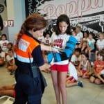 protección civil visita campus ingles en alhaurin de la torre