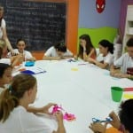 workshop in english at summer camp alhaurin