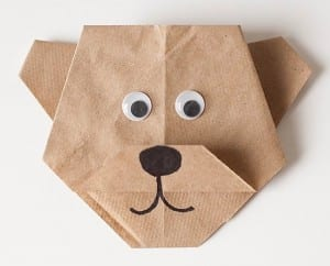origami paddington bear