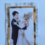 Wedding day card in 3D