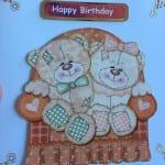 Happy Birthday card in 3D