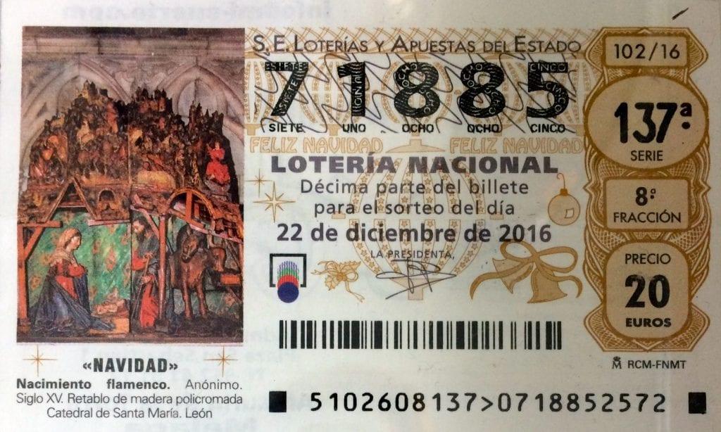 participaciones en la loteria de navidad