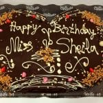 para el cumple de Ms Sheila
