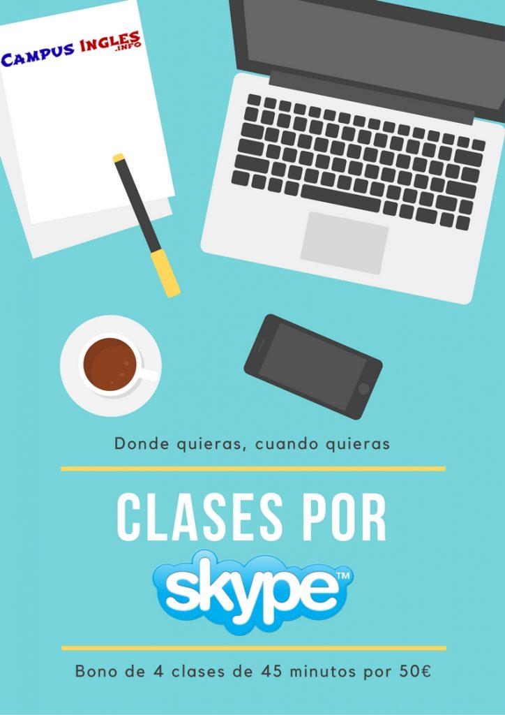 clases por skype cuando quieres, donde quieres