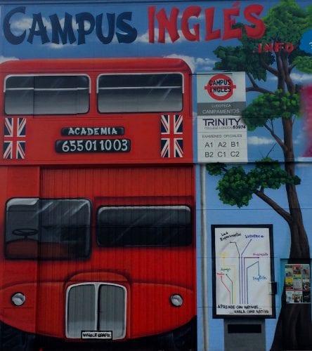 Despues de pintar Campus Inglés