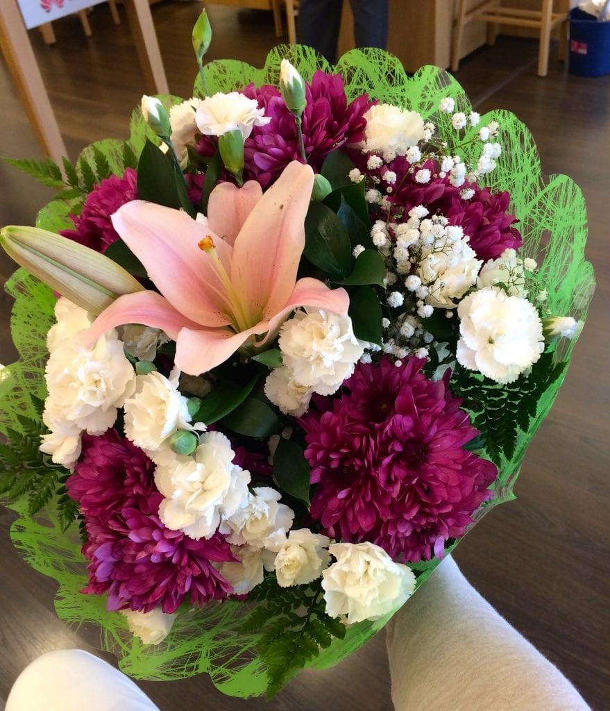 flores para Eva