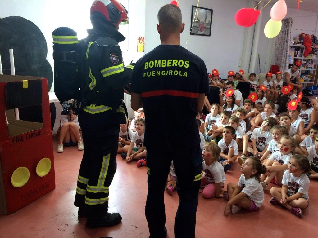 de los bomberos