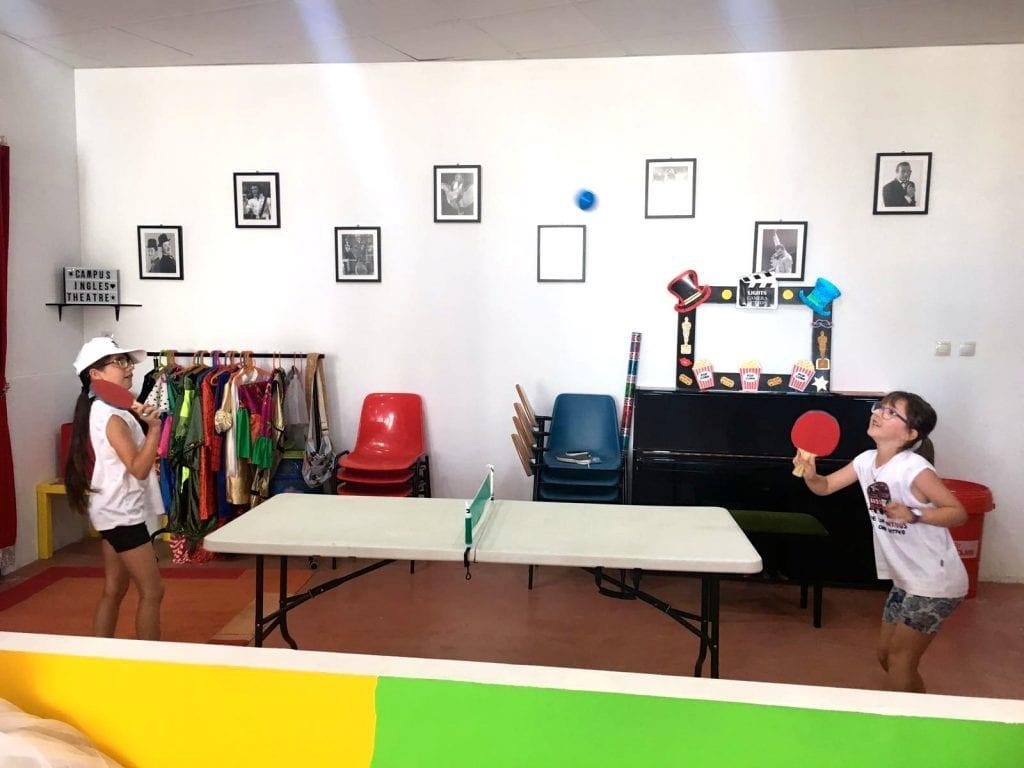 competiciones de ping pong