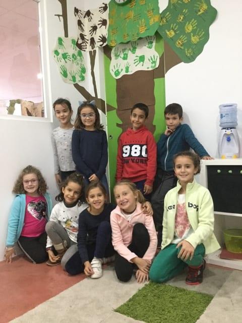 on the classroom door