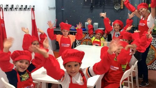 Campus Ingles cooking class