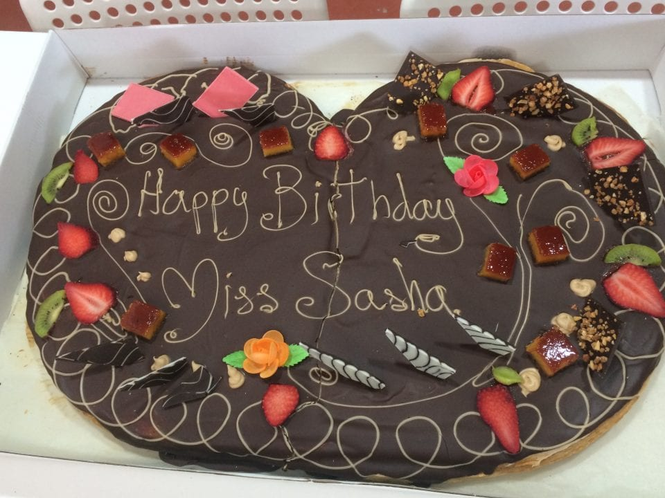 Miss Sasha's birthday