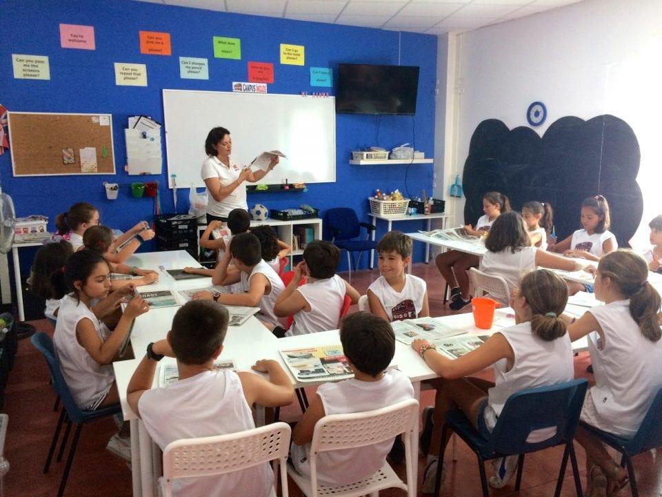 Arte y manualidades en inglés