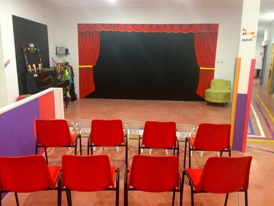 Nuevo teatro en Campus Inglés